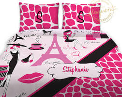 Bedding Sets For Little Girls by Paris Bedding Etsy
