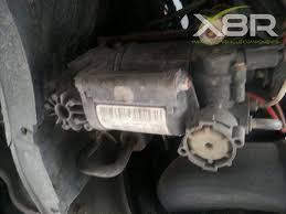 mercedes s class air suspension problems mercedes s e class wabco air suspension compressor removal 4 steps