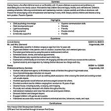 nanny resume template objective fornny resume and care description exles professional