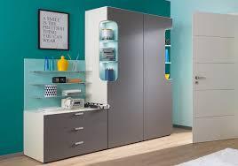 jugendzimmer türkis max i rudolf kleiderschrank kombination creme grau türkis