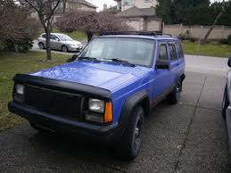 purple jeep cherokee i see your orange and raise you this blue purple color 4 5 re
