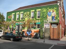 pilsen mad about the mural the building is home to san