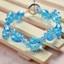 Learning To Make Jewelry - wanna this crystal glass beads bracelet learn to make one from
