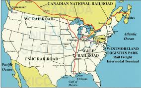 Canadian Pacific Railway Map Interactive Maps Of Us Freight Railroads Acw Railway Company Up
