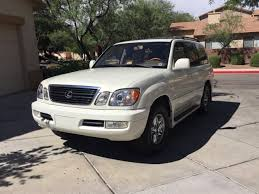 lexus lx for sale in houston tx for sale 2000 lexus lx470 pearl white ih8mud forum