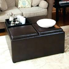 cushion coffee table with storage exotic cushion ottoman coffee table trays coffee tables best tray
