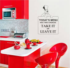 red kitchen decor kitchen design