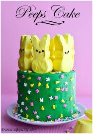 peeps cake for easter 01 jpg