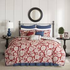 Red King Size Comforter Sets Size King Blue Red Comforter Sets Free Shipping On Orders Over