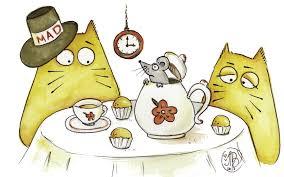 mad cat tea party cat alogue storybird