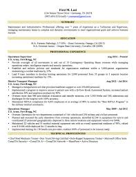 Military To Civilian Resume Template Military To Civilian Resume Free Resumes Tips Tem Saneme