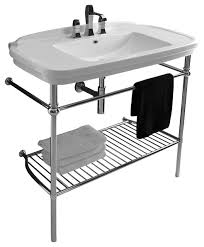 Washstands And Vanity Units Nova Washstand In Ceramic White 39 4