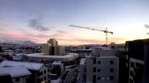 sunrise timelapse in reykjavik december 12th 2015 youtube