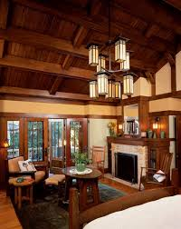 arts and crafts homes interiors doors let in the light craftsman log cabins and craft