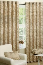 Seville Curtains Seville Chagne Eyelet Curtains