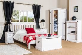corona ottoman blanket box storage chest trunk u2013 white washed