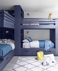 bedroom interesting blue bedrooms with blue bunk beds for nice