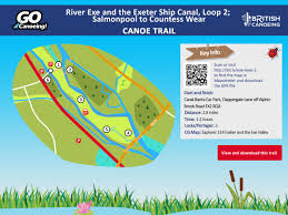 six new canoe trails launched across england british canoeing