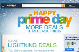amazon black friday deals web site amazon prime day boosts sales despite sniping by walmart cmo
