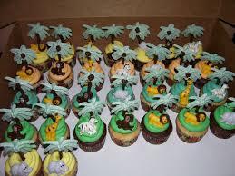 safari theme baby shower cupcakes baby shower decoration