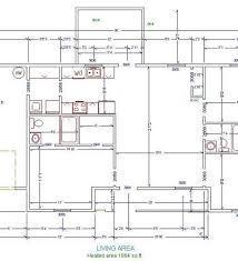 House Floor Plan Measurements Single Floor House Plans House Floor Plan With Dimensions Floor