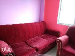 want to sell my sofa want to sell my sofa set of 5 seater red silchar furniture tarapur