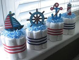 nautical baby shower favors sailor centerpieces for baby shower four nautical mini