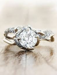 country engagement rings best 25 rustic wedding rings ideas on country wedding
