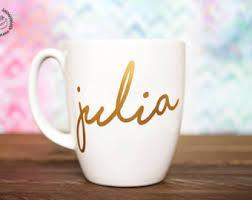 Gold Coffee Mug Coffee Mug Etsy