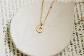 sted initial necklace small gold initial necklace best necklace 2018