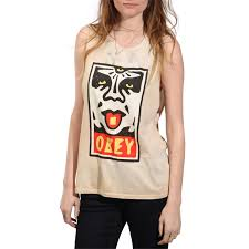 obey clothing obey clothing mega dose tank top women s evo