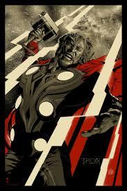 mondo u0027avengers u0027 poster premiere behold the mighty thor fandango