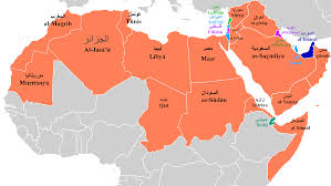 map without country names map arab countries 2 maps update 23011389 arabic without walls