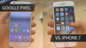 google pixel vs iphone 7 google and apple go to war trusted reviews