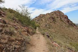 Phoenix Mountain Preserve Map by Gjhikes Com Mohave Trail