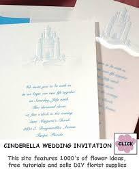 cinderella wedding invitations cinderella wedding invitations