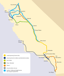 california high speed rail map california breaks ground on high speed rail system that will one