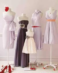 wedding colors lavender and red martha stewart weddings