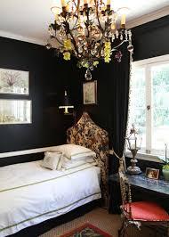 10 ways to use black on bedroom walls