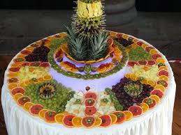 fruit displays party palm tree fruit display birthday cake ideas