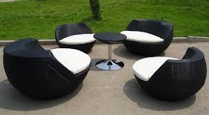 Desig For Black Wicker Patio Furniture Ideas Black Wicker Outdoor Furniture Design Luxurious Furniture Ideas