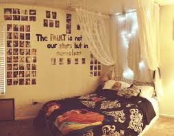 my room after i redecorated it tfios quote picture wall lights