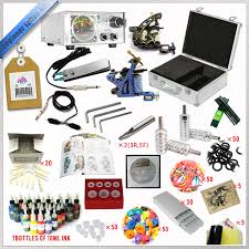 2015 best selling complete tattoo kit high quality full tattoo
