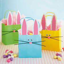 take these bunny gift bags on a fun easter egg hunt