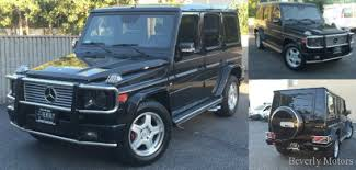 2003 mercedes amg for sale 2003 mercedes g55 amg designo black on black for sale