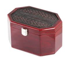 lulav holder fancy yet classic mehogany wood and leatherette etrog box