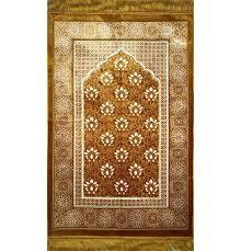 Rug Gold Muslim Janamaz Prayer Rugs