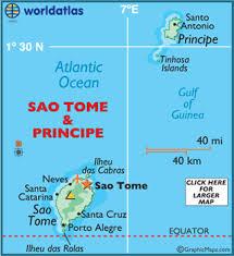 map of sao tome sao tome map geography of sao tome map of sao tome