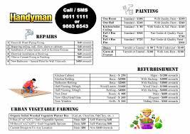 handyman services call 9611 1111 u2022 singapore classifieds