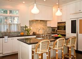 Pictures Of Kitchens With White Cabinets And Black Countertops Kitchen Countertop Ideas With White Cabinets